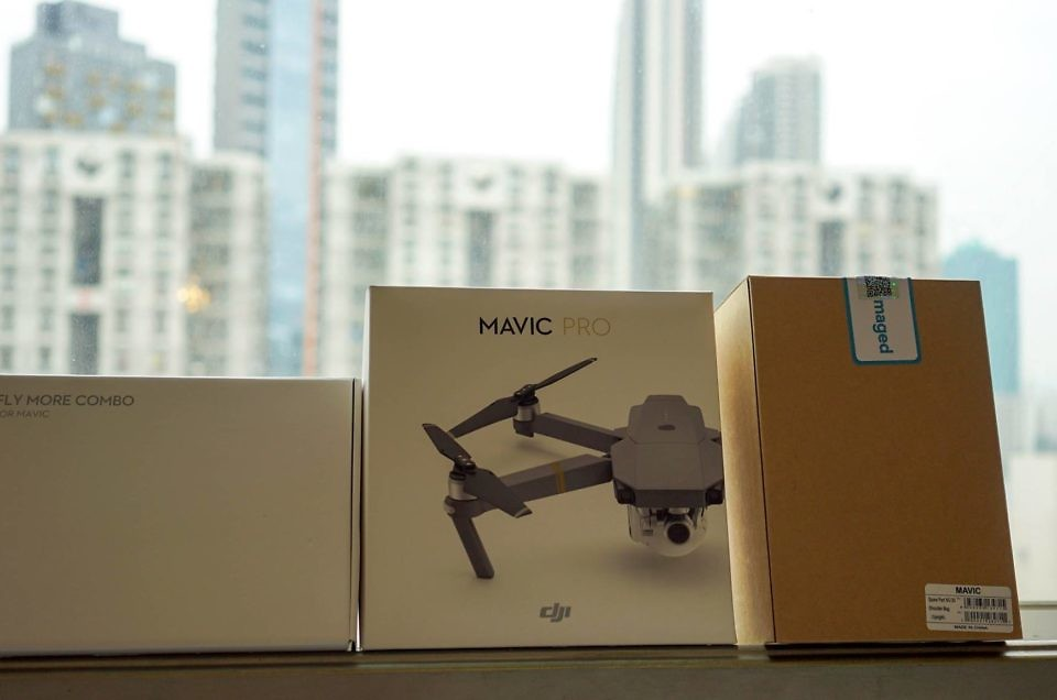 How to get DJI Mavic Pro in India