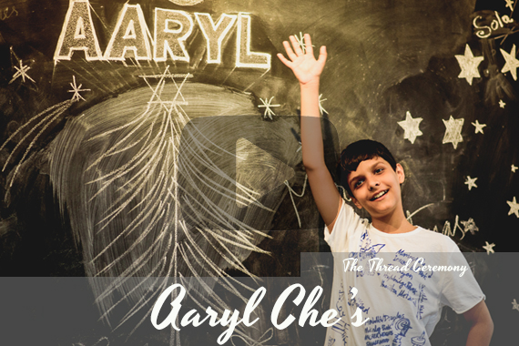 Aaryl che's | Thread Ceremony