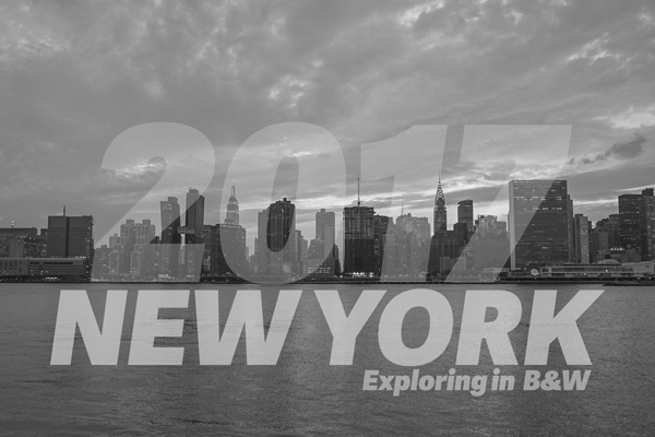 Exploring New York in B&W