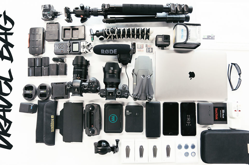 What goes in a Travel Filmmaker's Backpack!