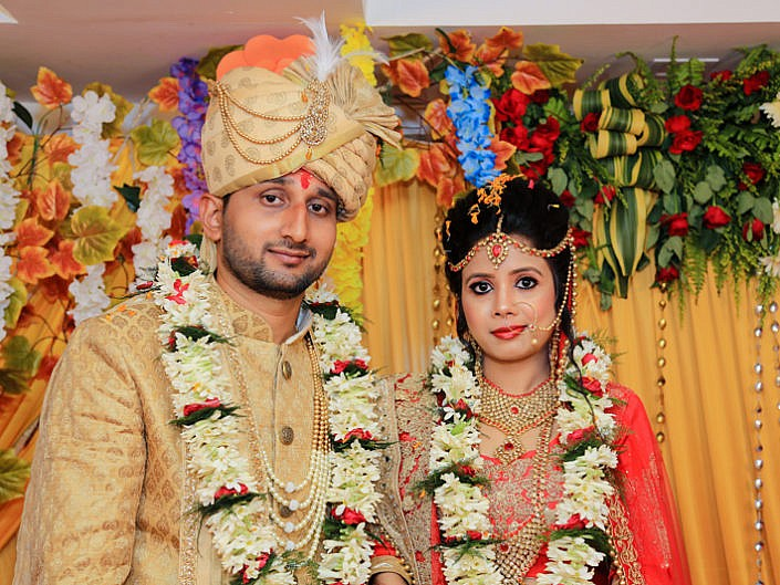 AMBIKA & BINEET Photo Gallery
